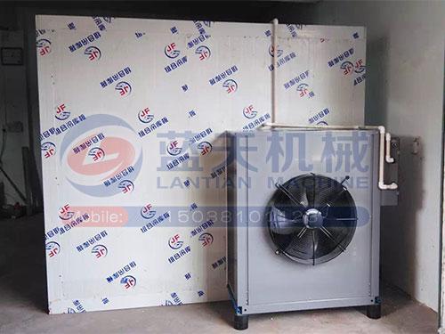 湖南热泵机安装现场