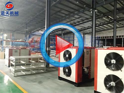 河北热泵机sheng产现场